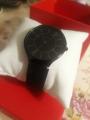 Изящные черные часы