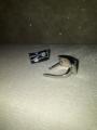 Сережки с кольцом