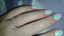 Колечко с якутскими бриллиантами