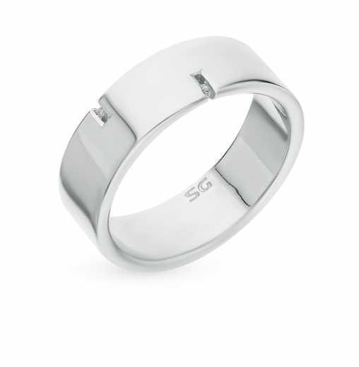 Мужские серебряные кольца с бриллиантами — купить недорого в каталоге с  фото и ценами — интернет-магазин SUNLIGHT в Москве 69b22482cd5f1