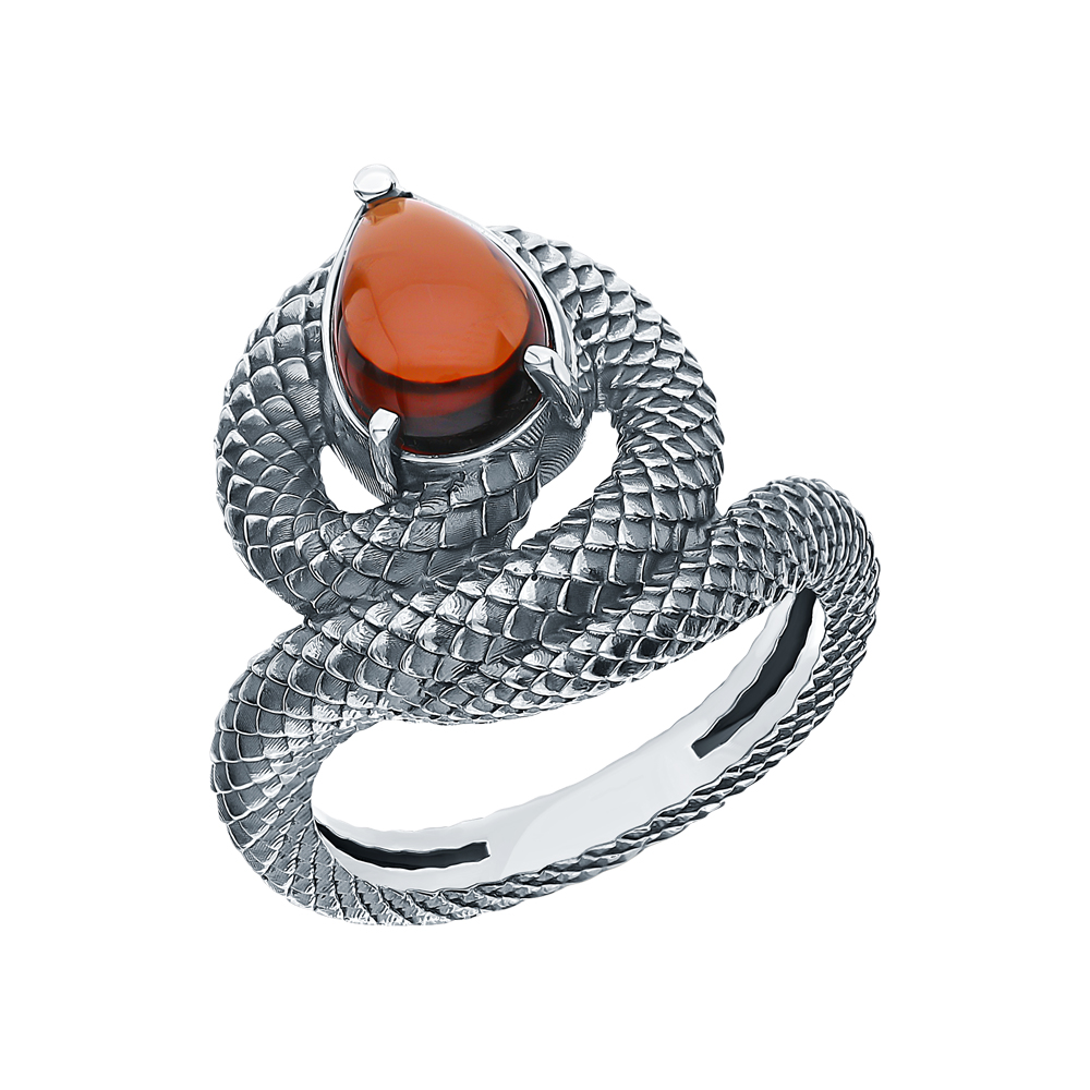 Фото «Серебряное кольцо с ситаллами»