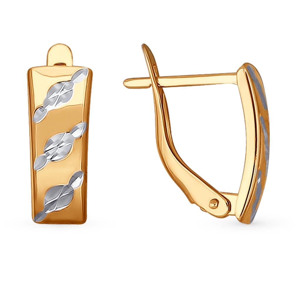 золотые серьги SOKOLOV 022189*