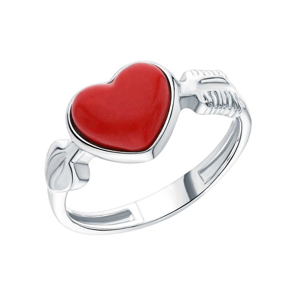 Фото «Серебряное кольцо с кораллом»