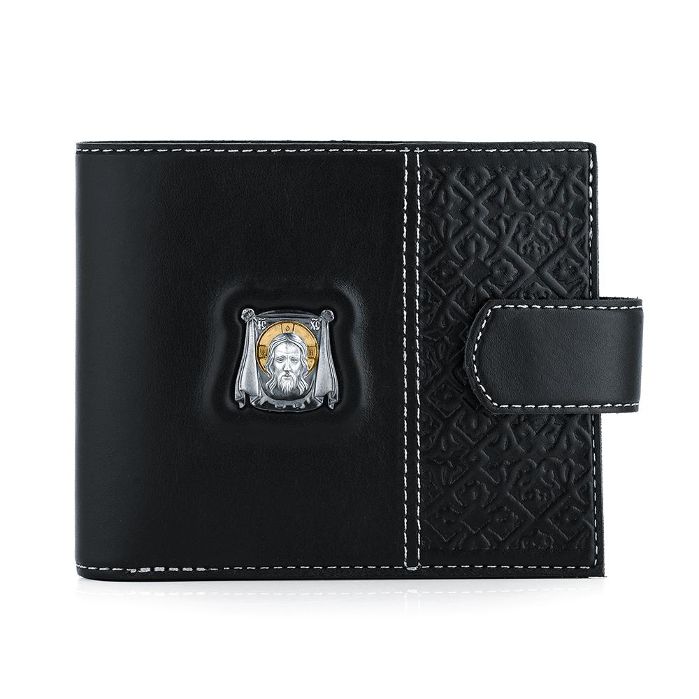 Фото «Кожа кошелек с серебром»