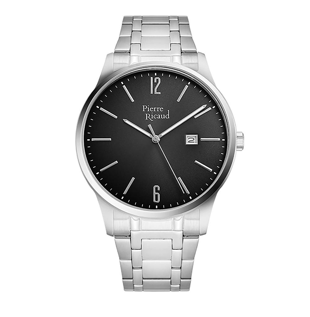 Фото «Мужские кварцевые часы P97241.5156Q на стальном браслете с минеральным стеклом»