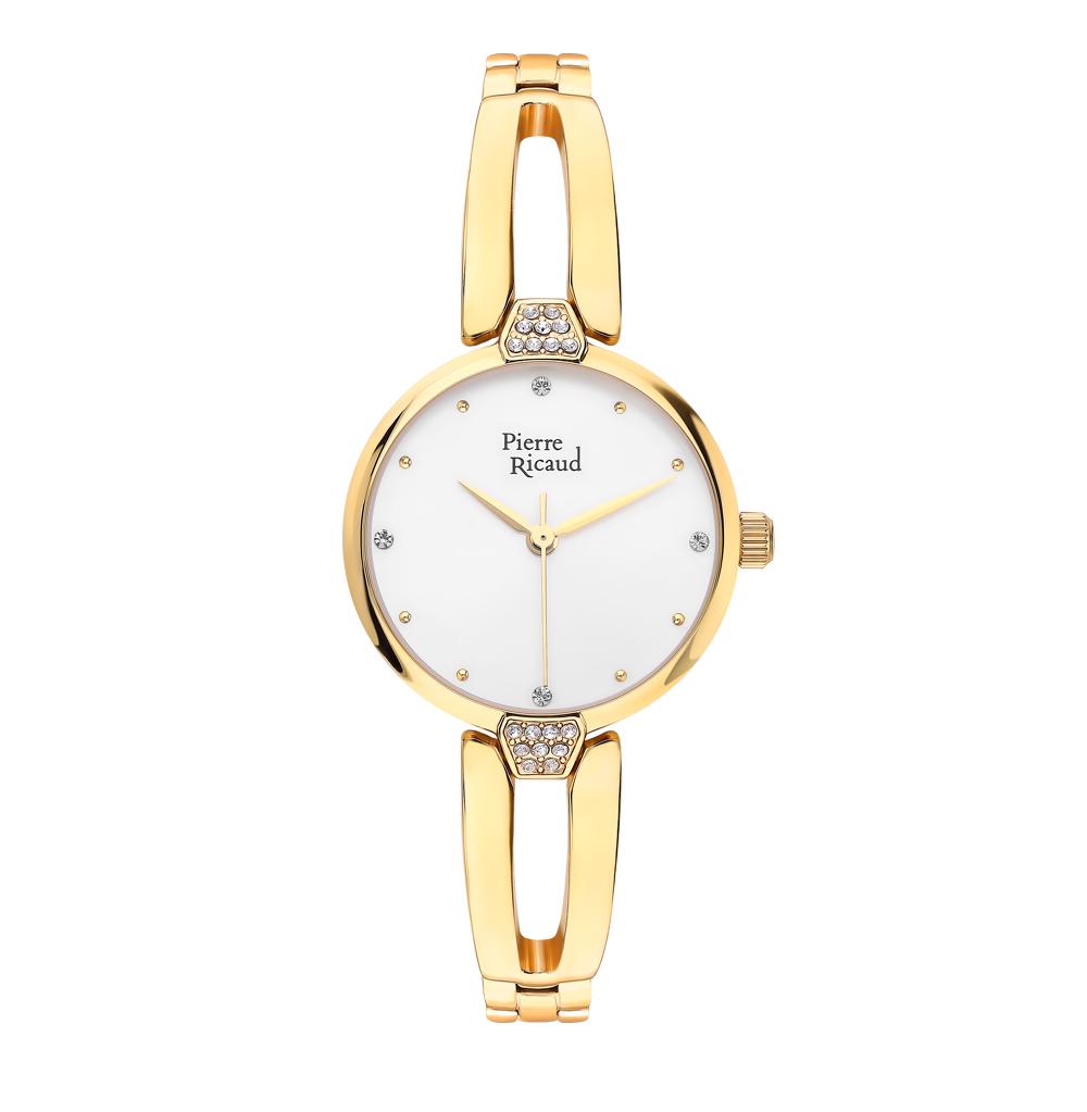 Женские часы P21028.1143QZ на стальном браслете с PVD покрытием с минеральным стеклом в Екатеринбурге