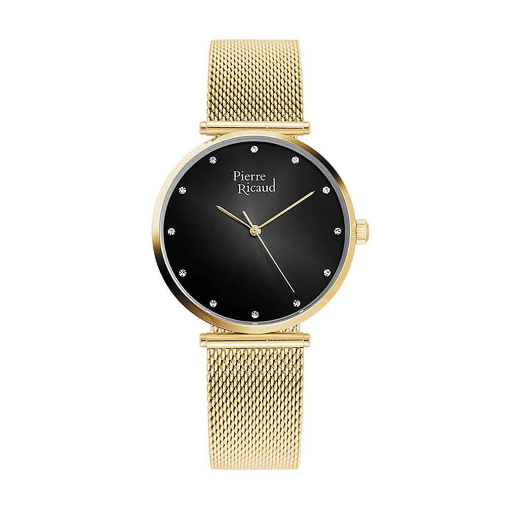Фото «Женские кварцевые часы P22035.1144Q на стальном браслете с минеральным стеклом»