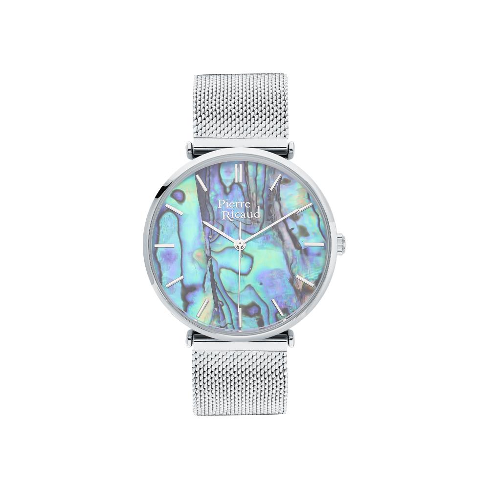 Фото «Женские кварцевые часы P22096.511AQ на стальном браслете с минеральным стеклом»