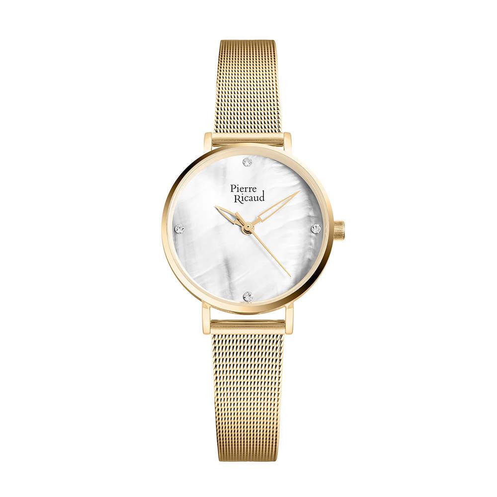 Фото «Женские кварцевые часы P22043.1149Q на стальном браслете с минеральным стеклом»