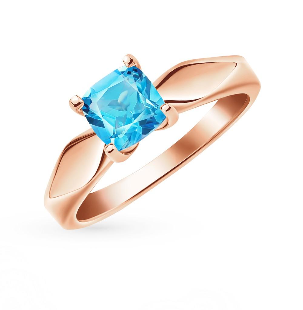 Золотое кольцо с топазами в Санкт-Петербурге