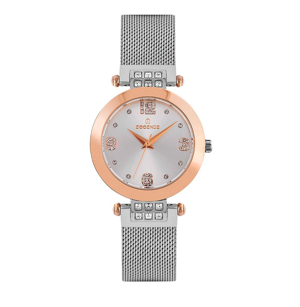 Фото «Женские  кварцевые часы ES6547FE.530 на стальном браслете с минеральным стеклом»