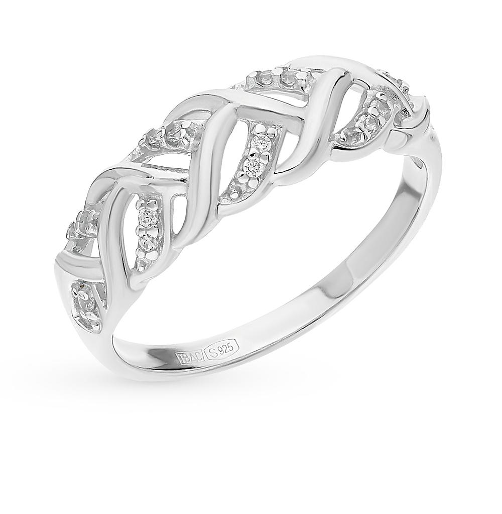 Серебряное кольцо с фианитами SOKOLOV 94012350 в Екатеринбурге