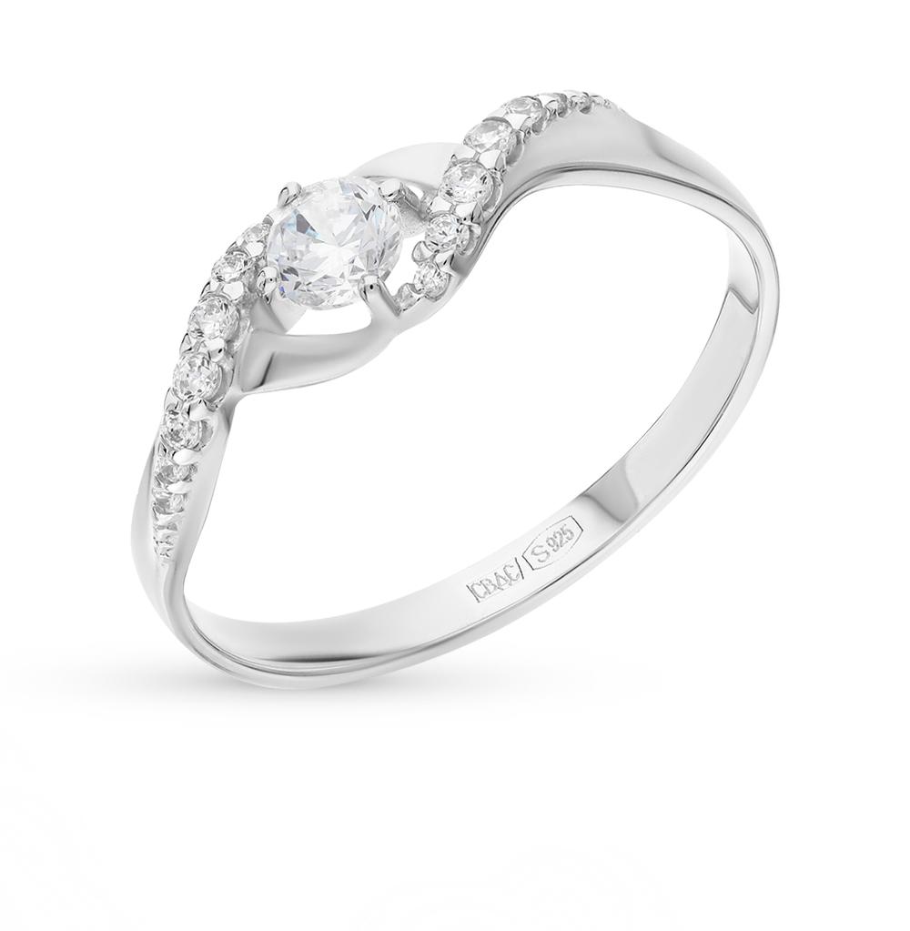 серебряное кольцо с фианитами SOKOLOV 94012201