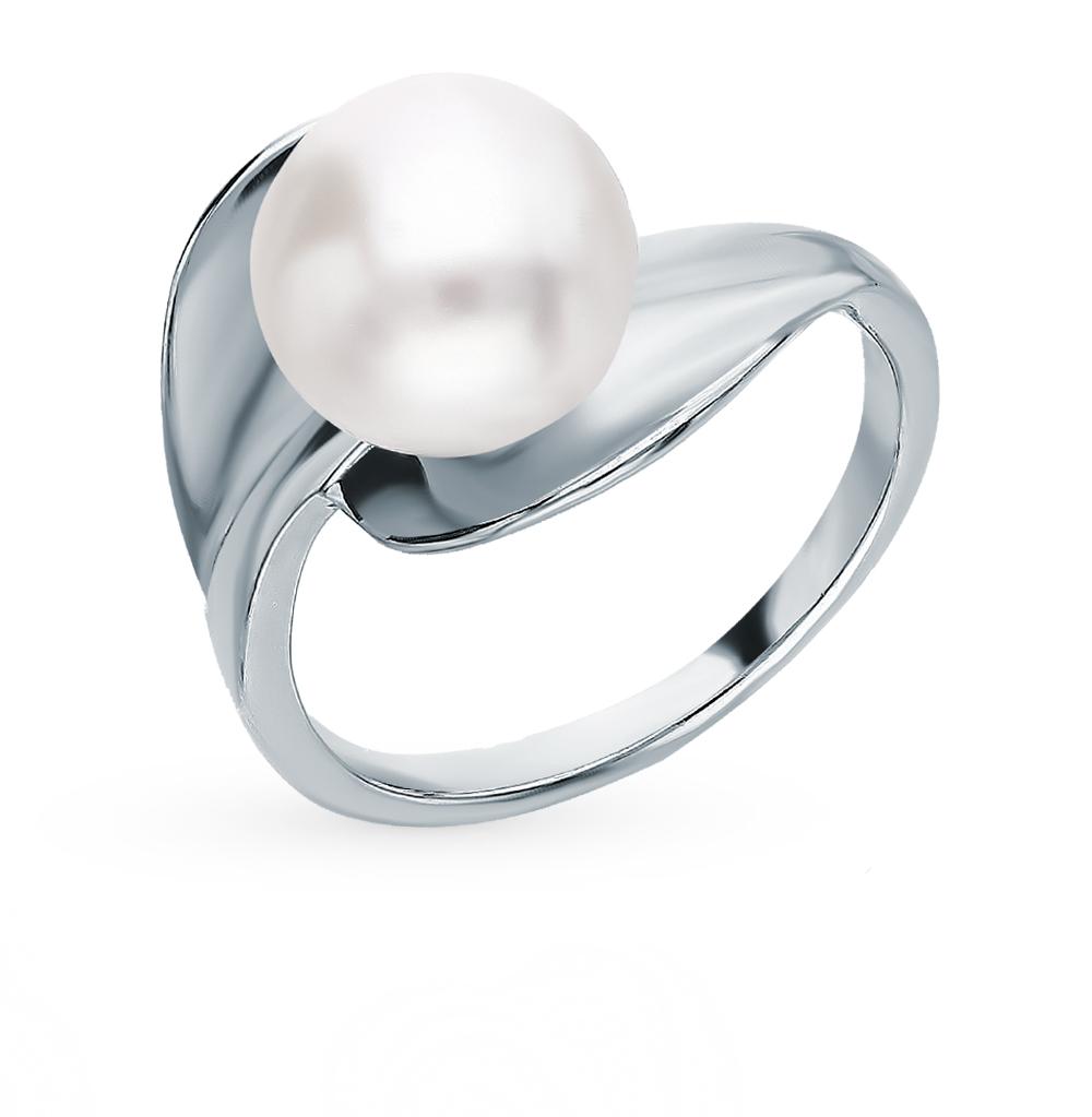 Серебряное кольцо с жемчугом в Екатеринбурге