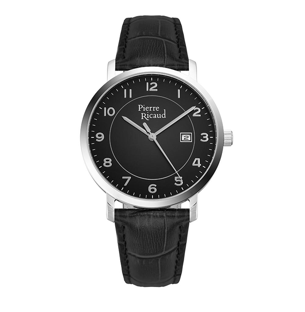 Мужские часы P97229.5224Q на кожаном ремешке с минеральным стеклом в Санкт-Петербурге