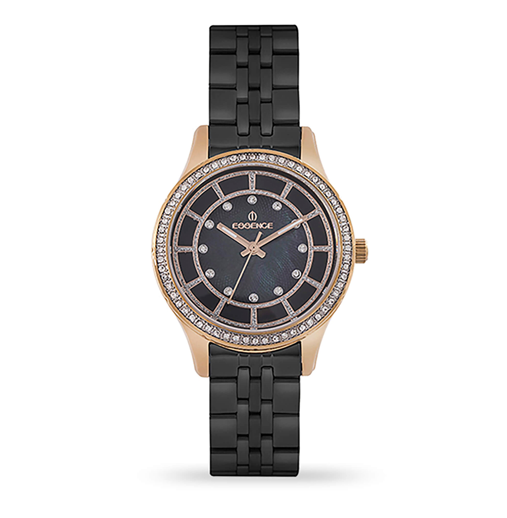 Фото «Женские  кварцевые часы ES6542FE.450 на стальном браслете с минеральным стеклом»