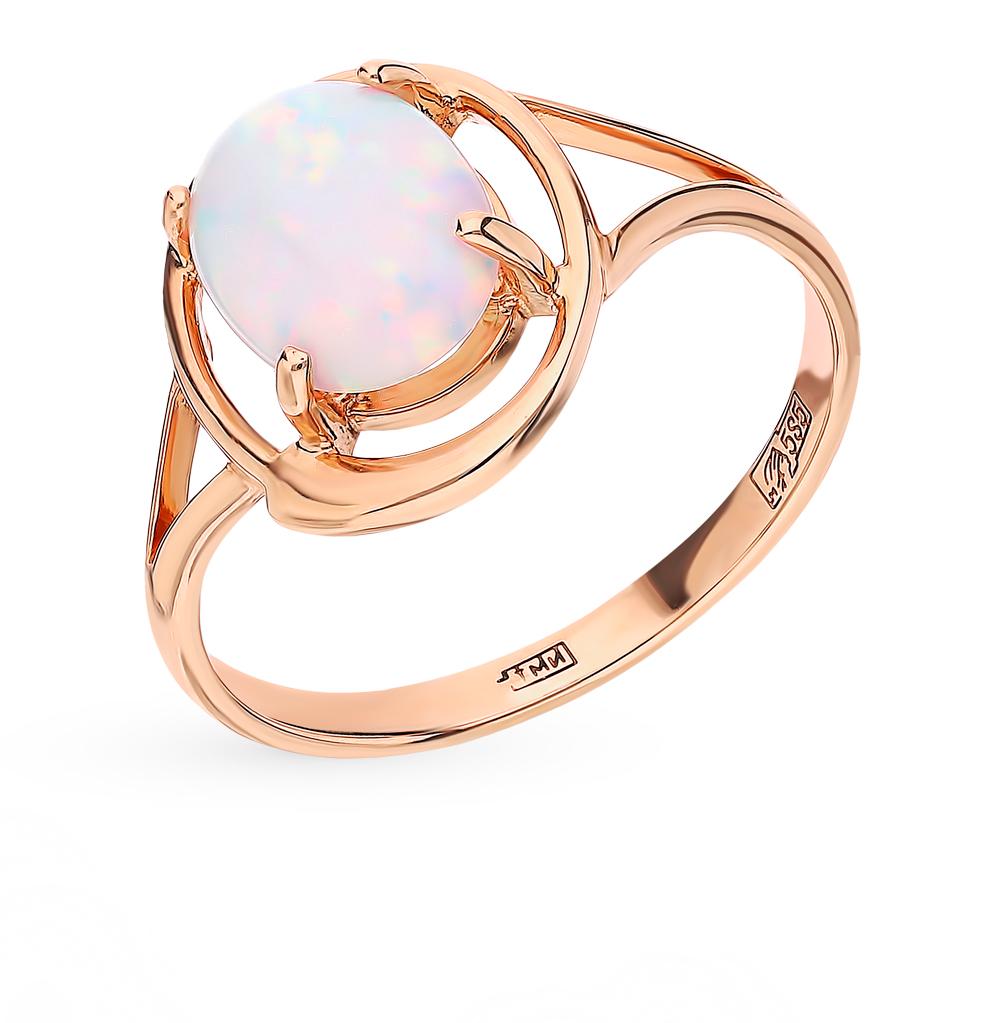 Золотое кольцо с опалами в Санкт-Петербурге