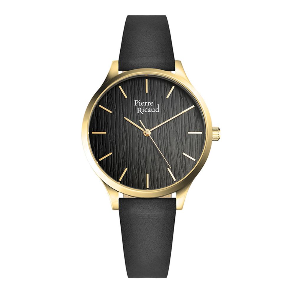 Женские часы P22081.1214Q на кожаном ремешке с минеральным стеклом