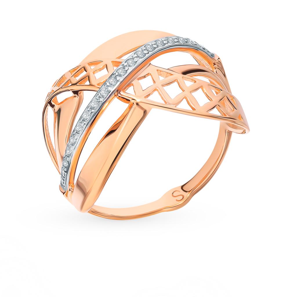 Золотое кольцо с фианитами SOKOLOV 017720* в Екатеринбурге