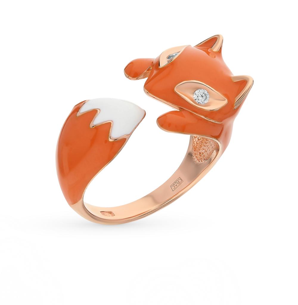 серебряное кольцо с фианитами SOKOLOV 93010511