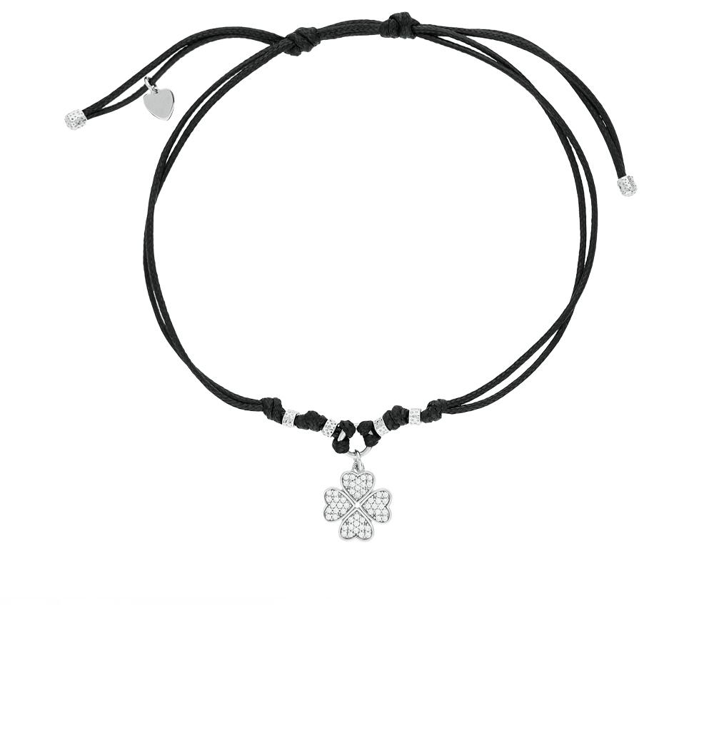Фото «серебряный браслет с серебром и фианитами»