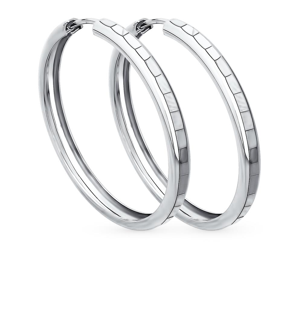 серебряные серьги SOKOLOV 94140065