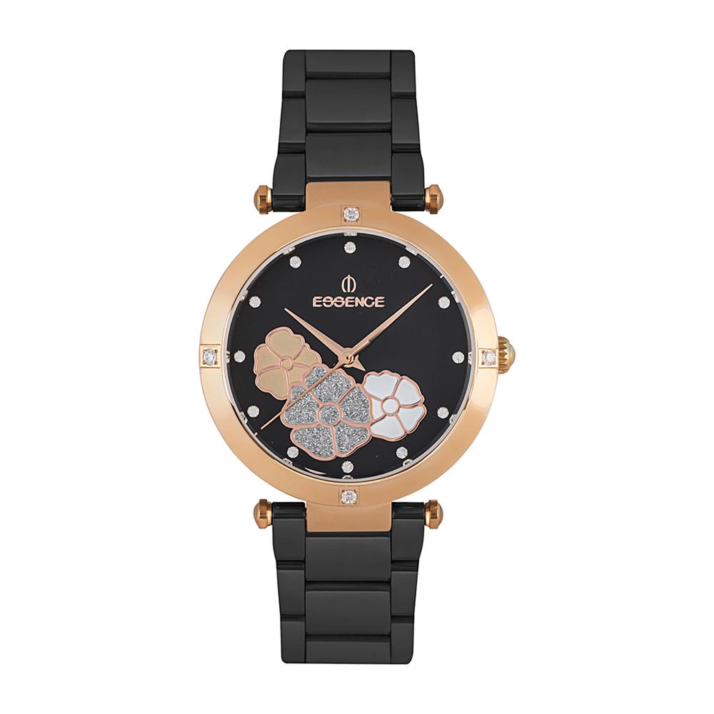 Фото «Женские  кварцевые часы ES6520FE.450 на стальном браслете с минеральным стеклом»
