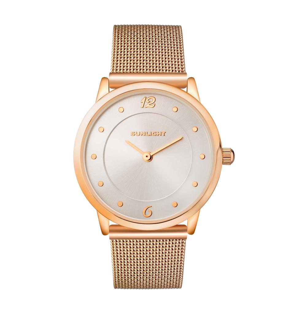 Фото «Тонкие женские часы на миланском браслете»