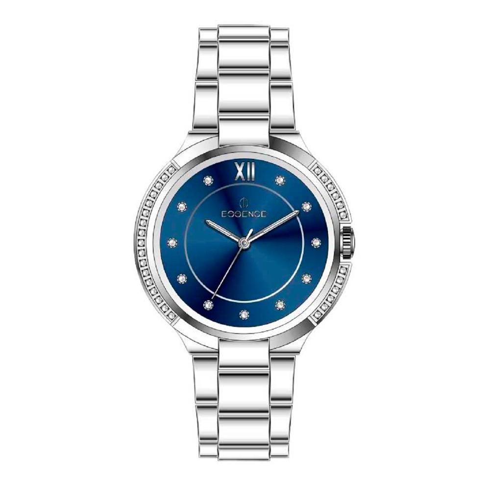 Фото «Женские  кварцевые часы ES6505FE.390 на стальном браслете с минеральным стеклом»
