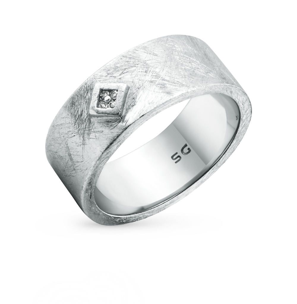 Фото «кольцо из серебра с бриллиантами»