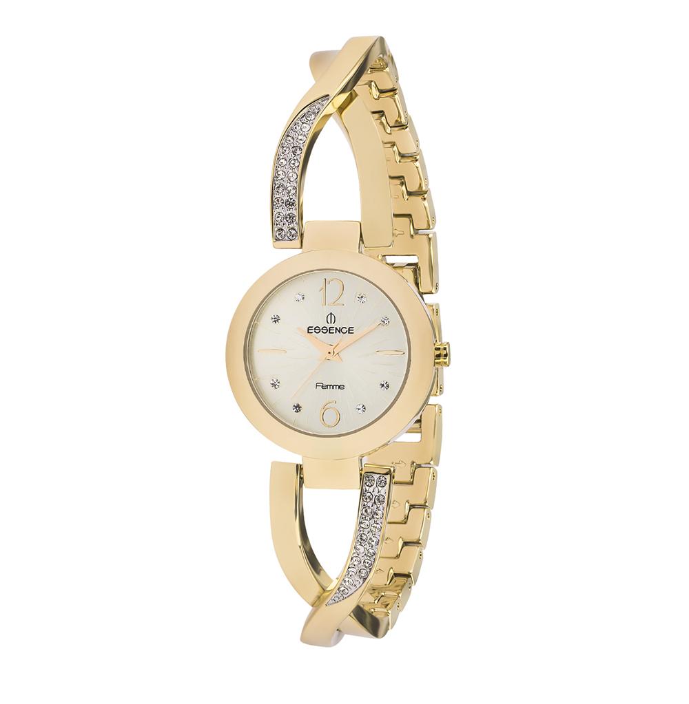 Фото «Женские часы D920.110 на стальном браслете с PVD покрытием с минеральным стеклом»
