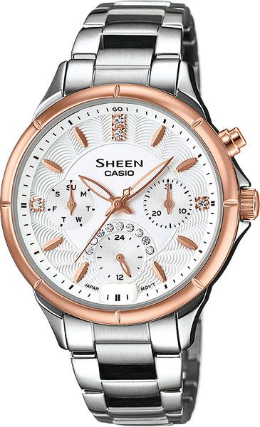 Часы женские CASIO SHE-3047SG-7A: 316l — купить в интернет-магазине SUNLIGHT, фото, артикул 111980