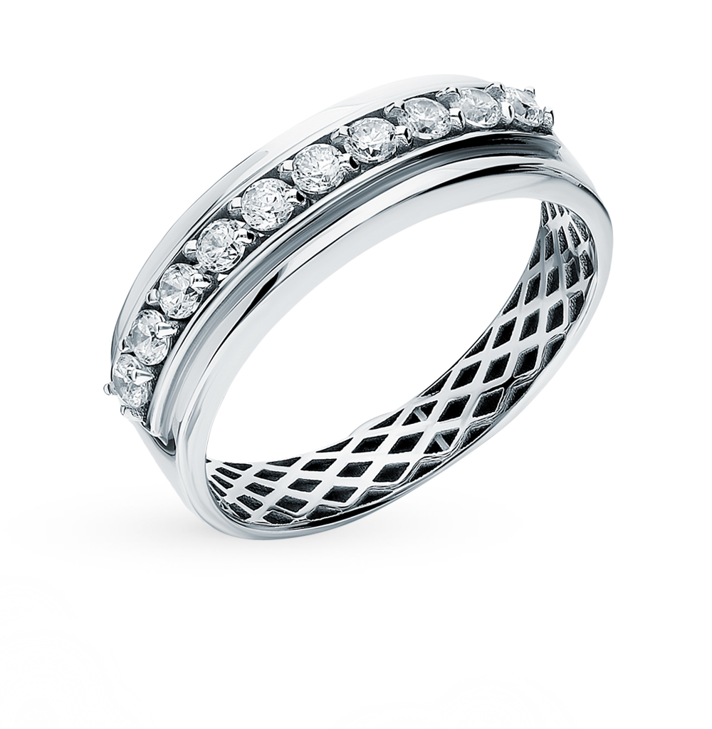 Золотое кольцо с фианитами SOKOLOV 018260-3* в Екатеринбурге