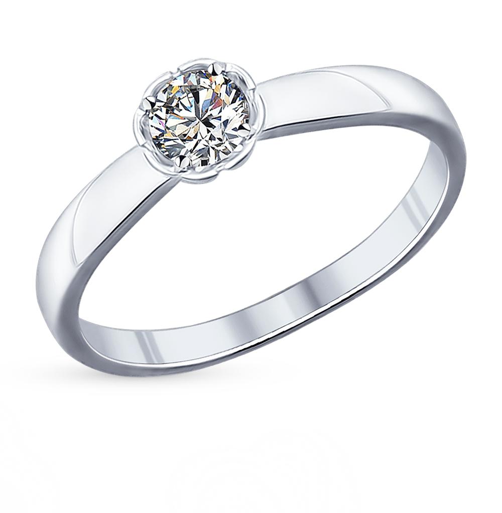 Серебряное кольцо с фианитами SOKOLOV 94011749 в Екатеринбурге