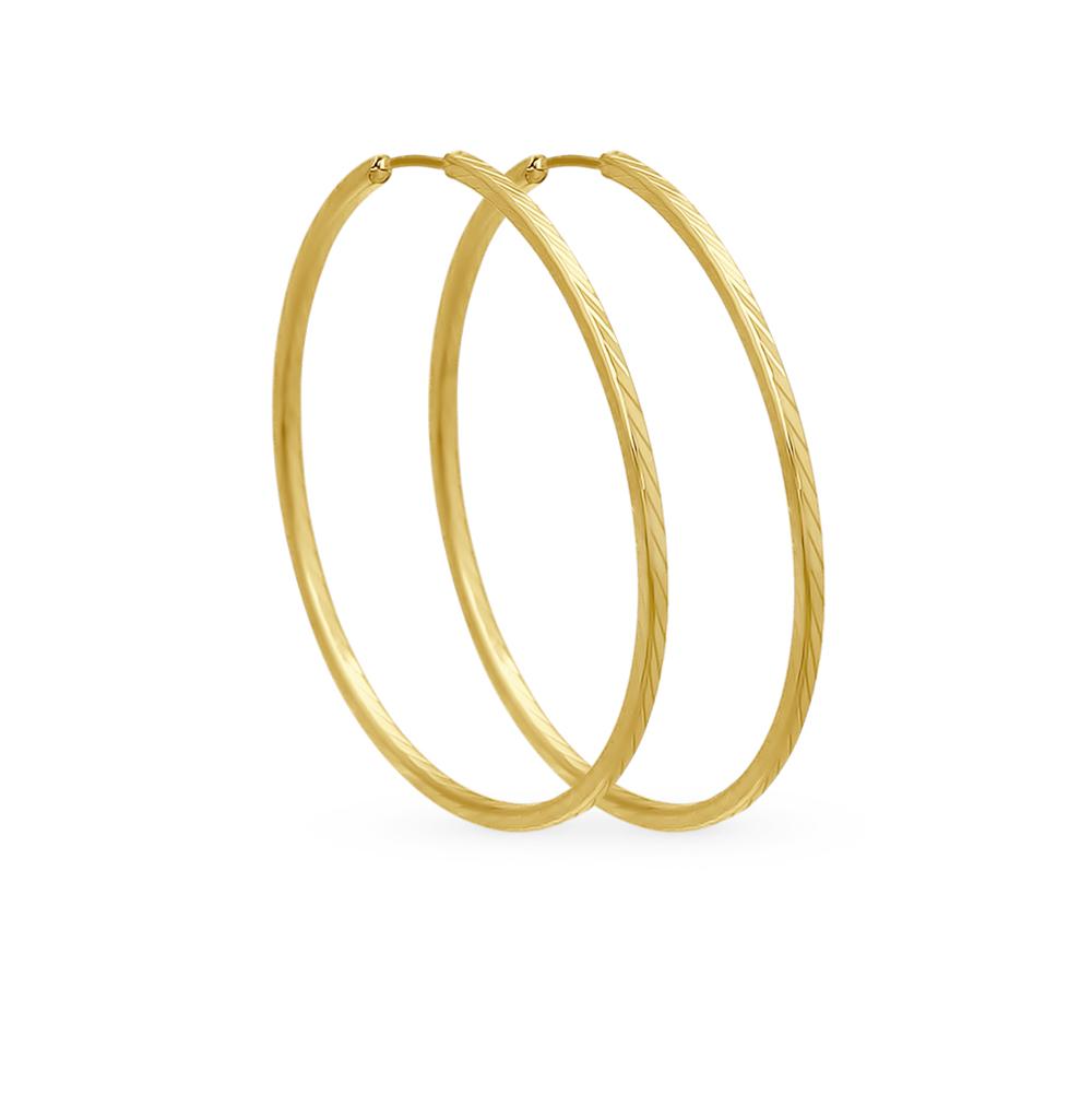 золотые серьги SOKOLOV 140011-2*