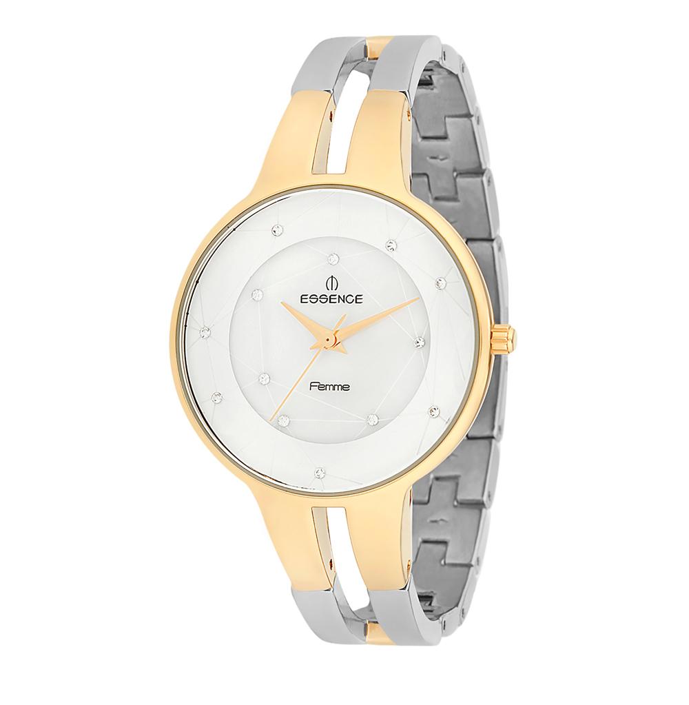 Фото «Женские часы D950.230 на стальном браслете с частичным PVD покрытием с минеральным стеклом»