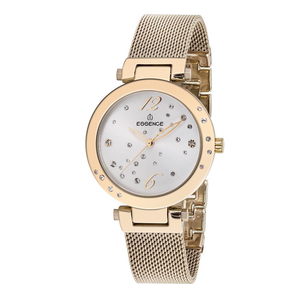 Женские часы ES6362FE.130 на стальном браслете с IP покрытием с минеральным стеклом