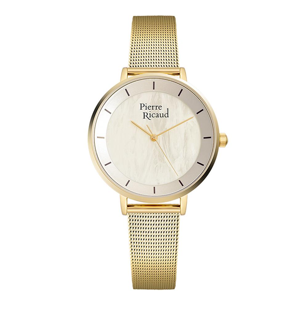 Фото «Женские часы P22056.111SQ на стальном браслете с PVD покрытием с минеральным стеклом»