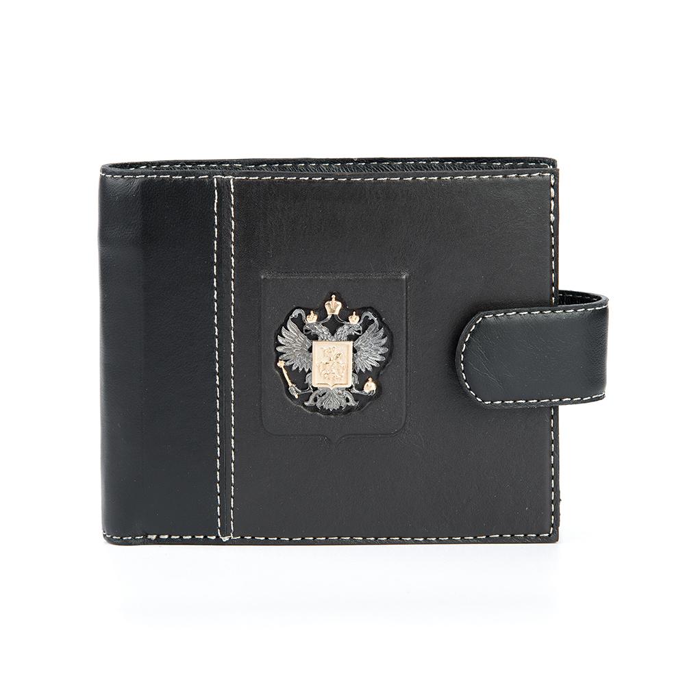 Фото «Кожа кошелек с серебряной вставкой»