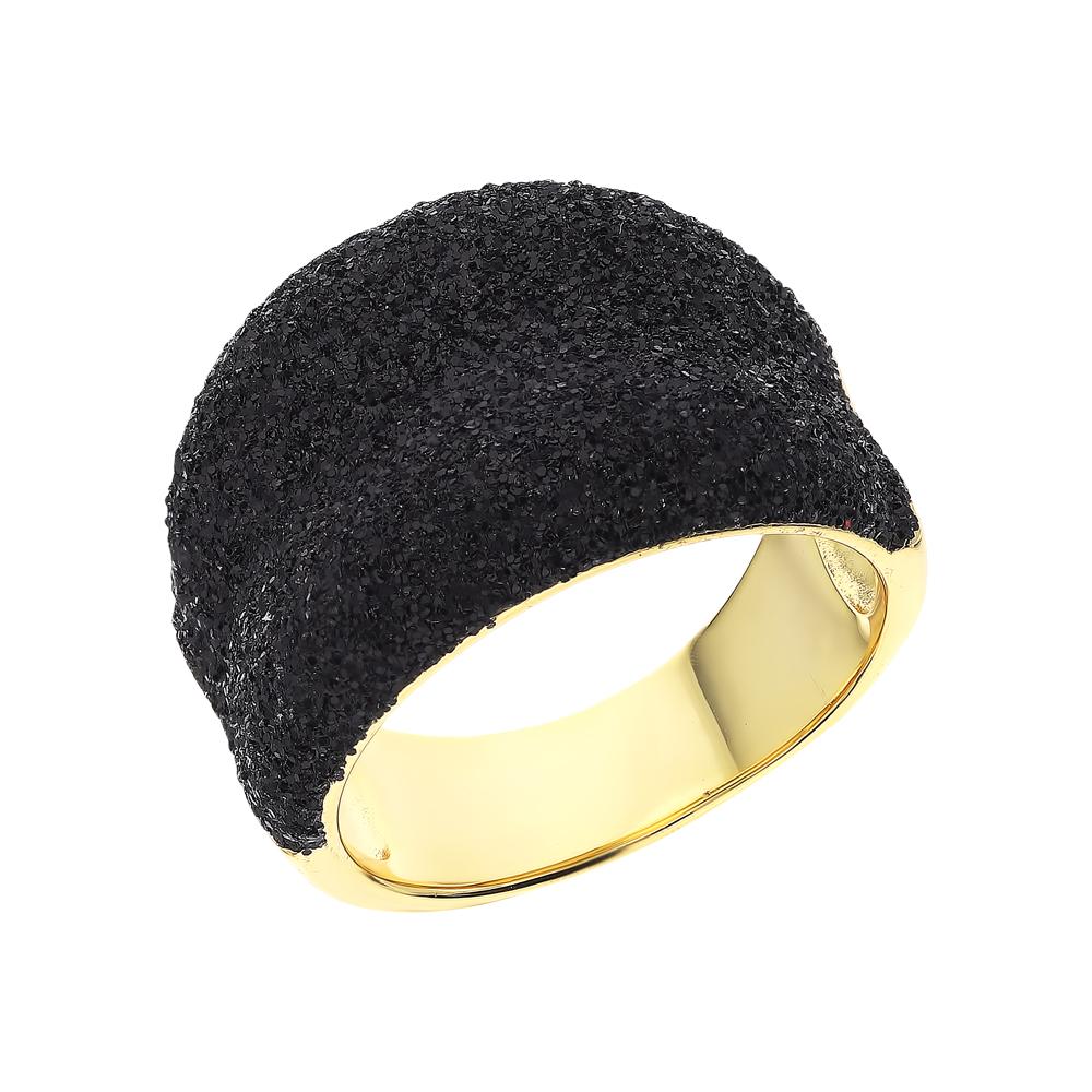 Фото «Серебряное кольцо с глиттерами»