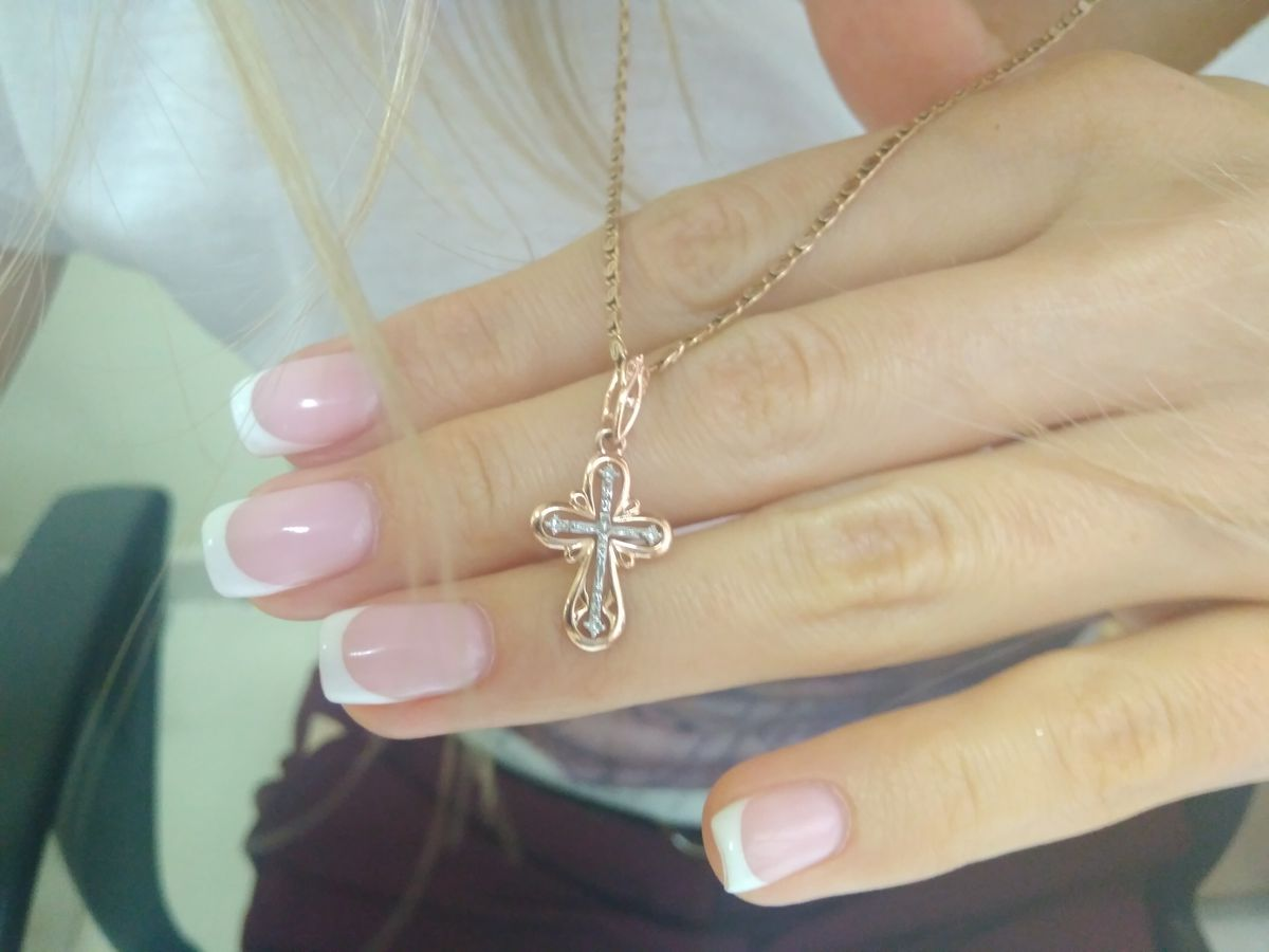 Очаровательный крестик