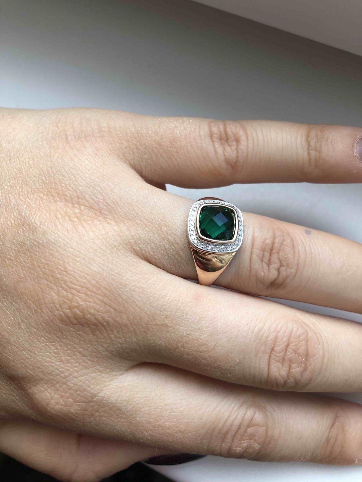 Яркое, сияющее кольцо