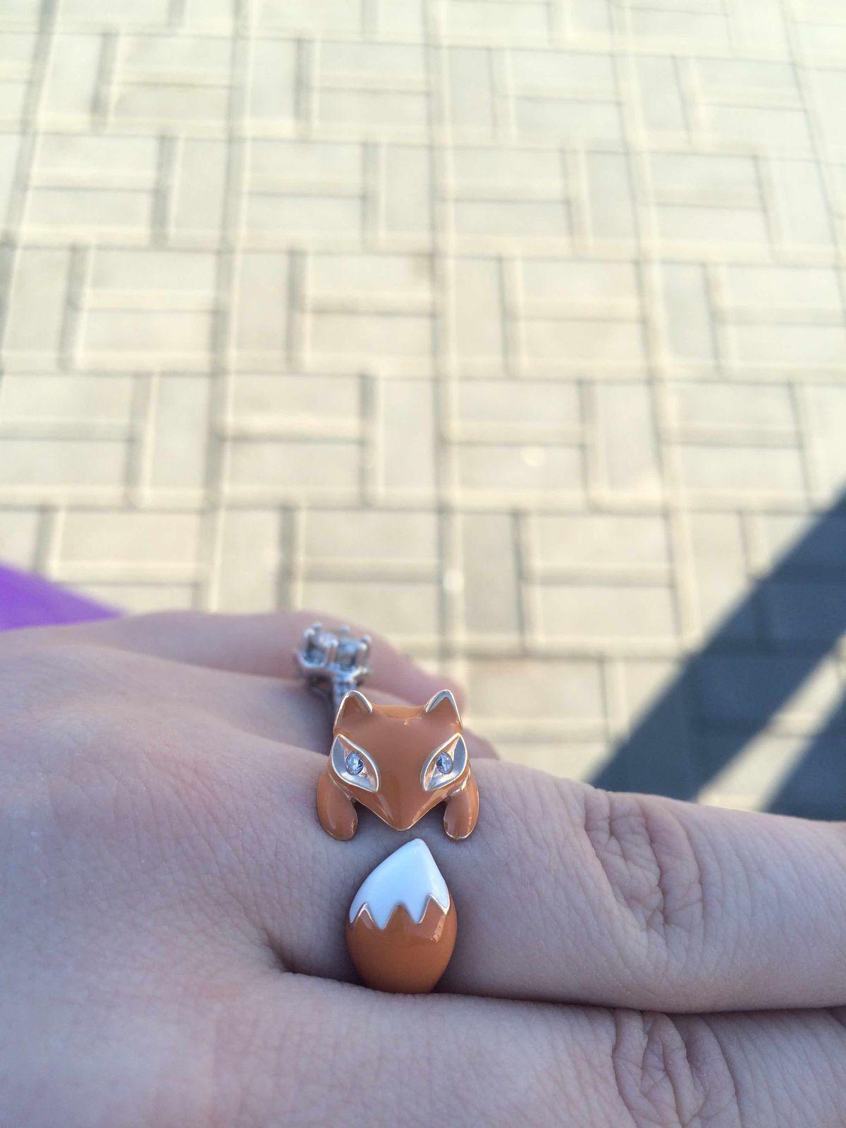 Кольцо лисёнок