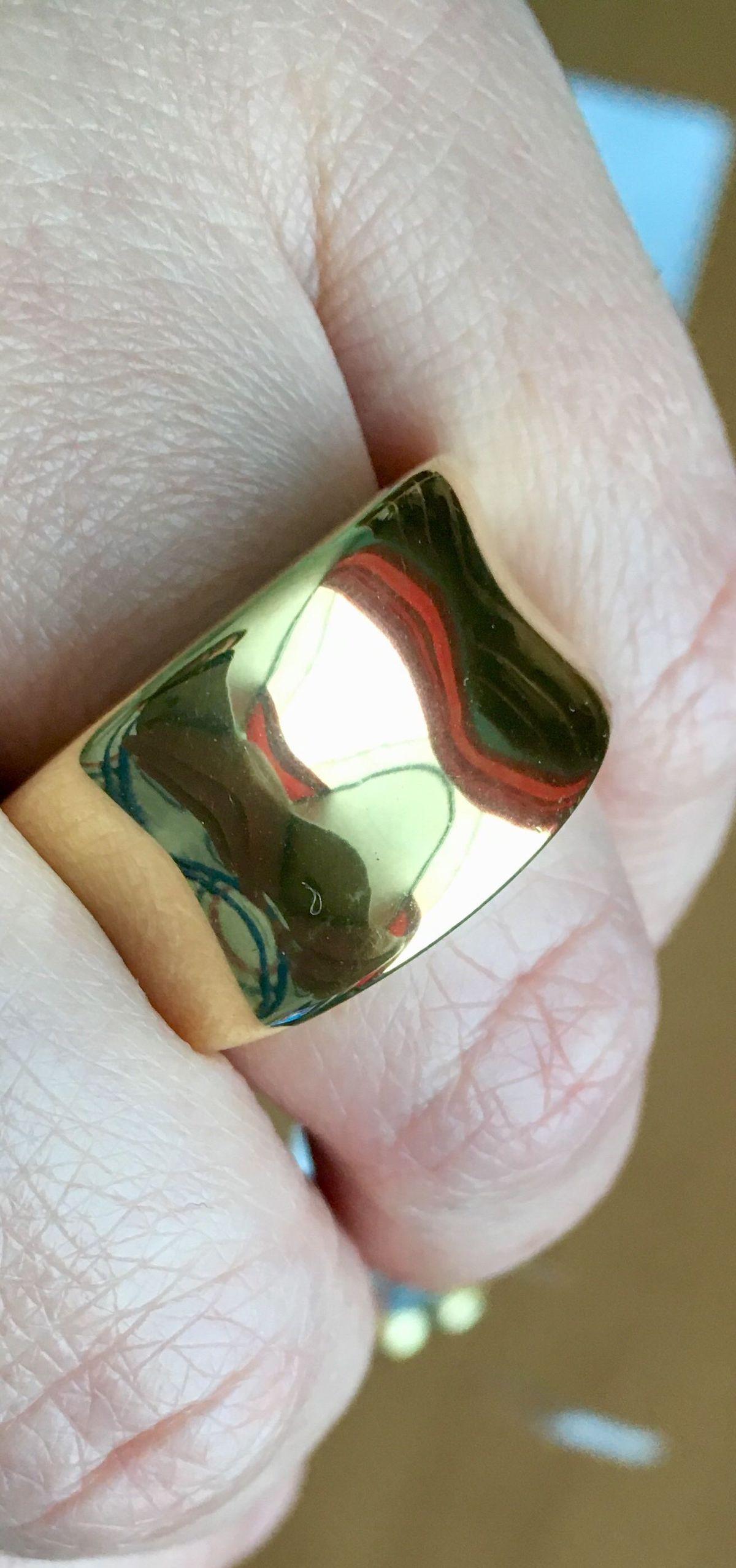 Массивное кольцо!