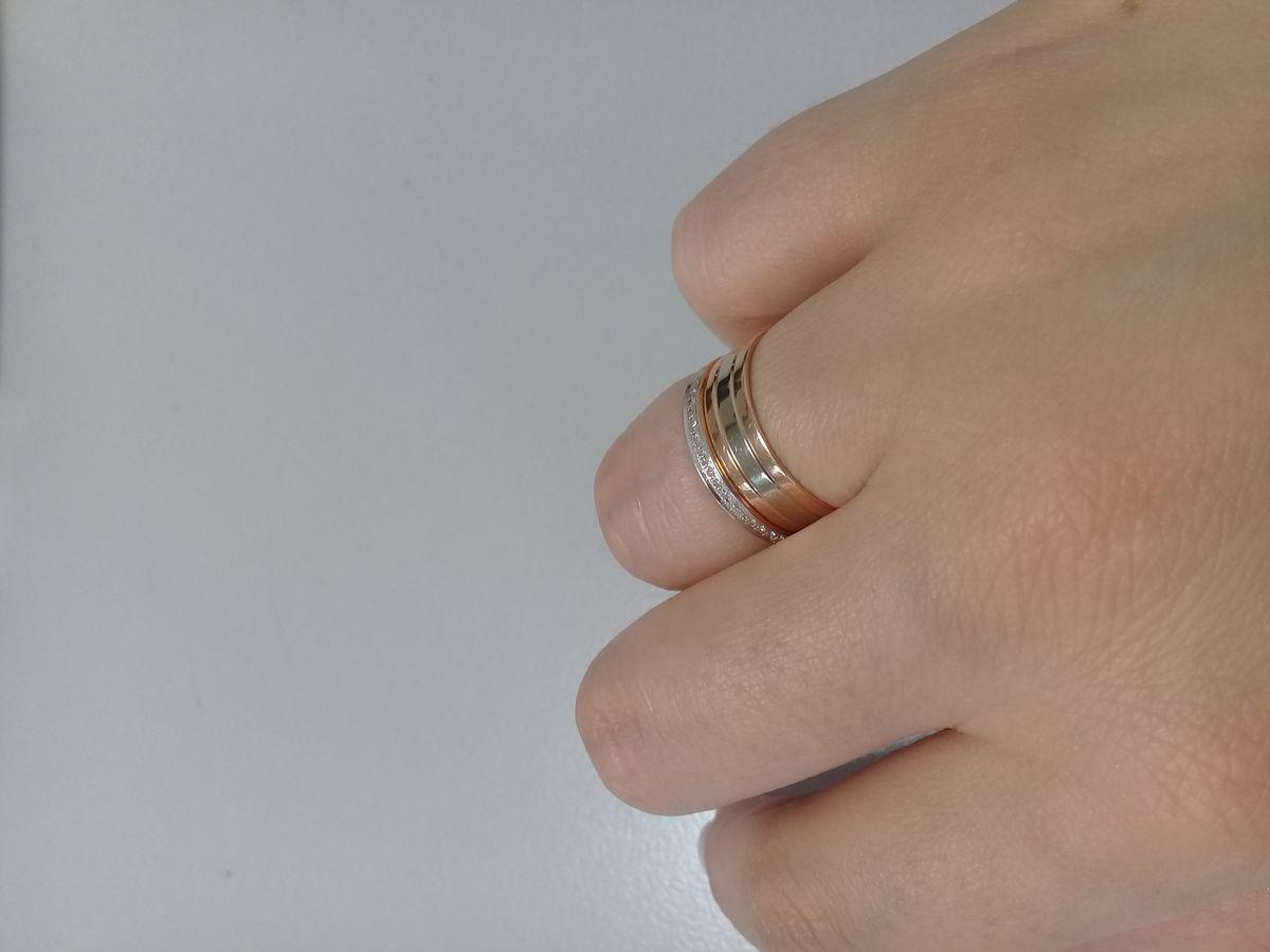 Кольцо с бриллиантами 💍