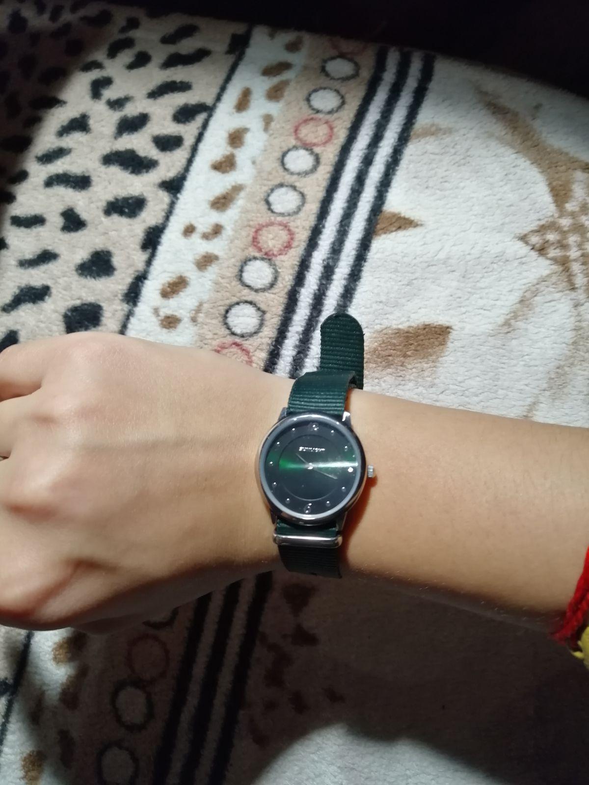 "Тонкие женские часы ""NATO"""