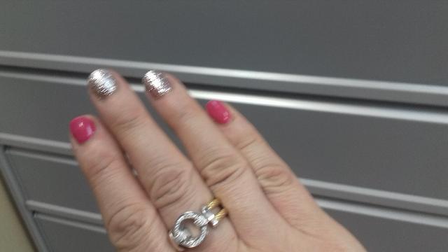 Кольцо серебряное  с фианитом