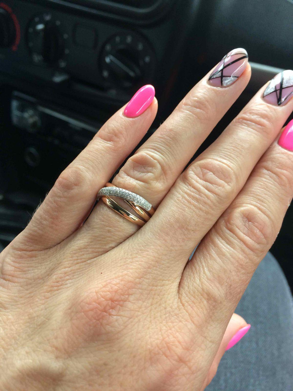 Кольцо с бриллиантами