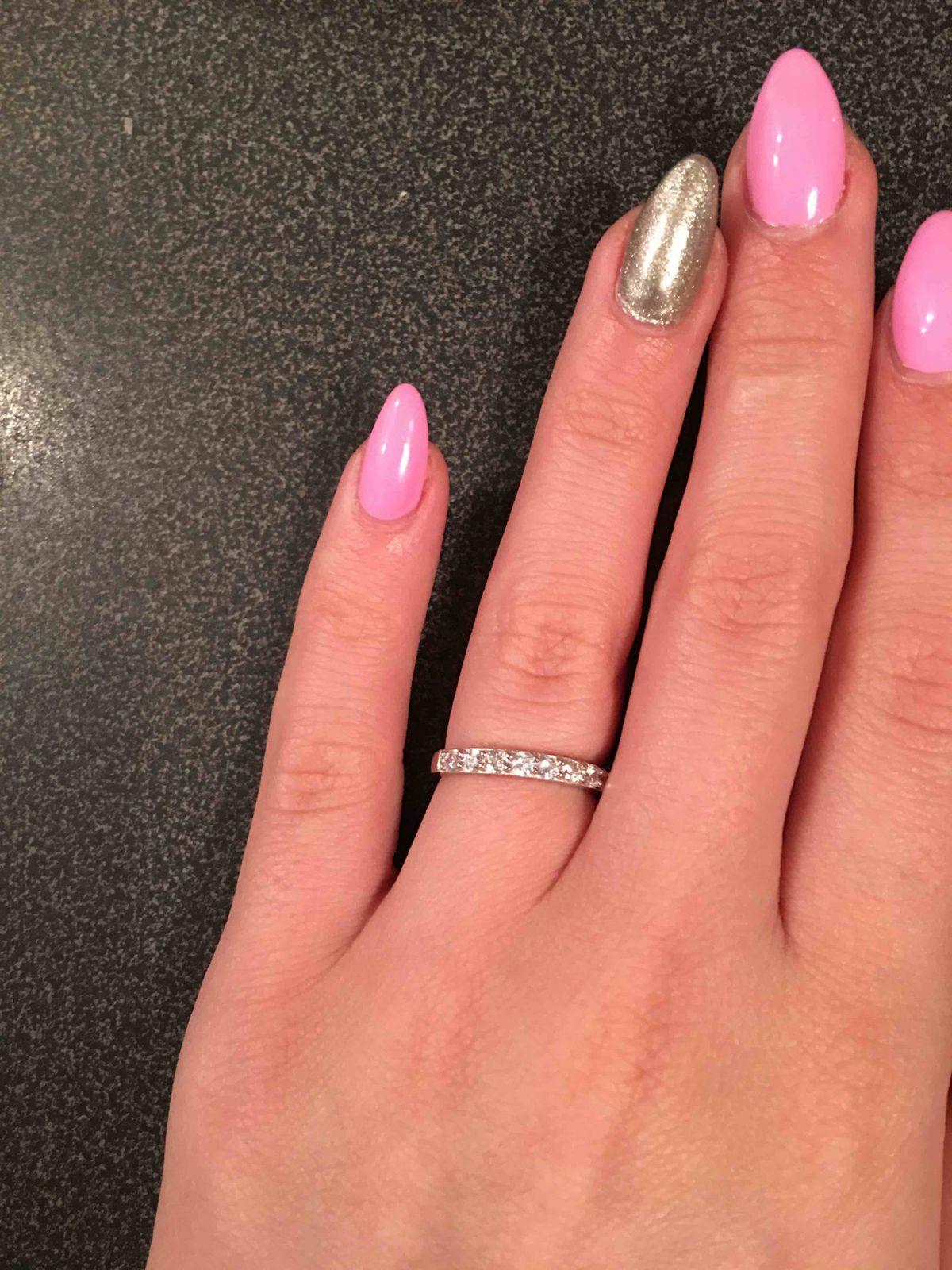 Замечательное серебряное кольцо!