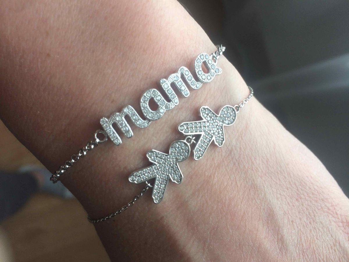 Символичный браслет для мамы сыновей